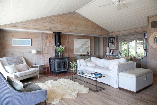 Интерьер скандинавский стиль деревянный дом фото