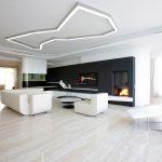 Комната в минимализм стиле в загородном доме