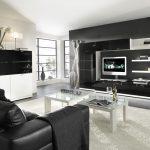 Мебель для гостиной в стиле хай тек