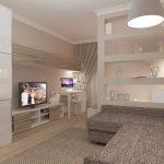 Идеи дизайна гостиной спальни