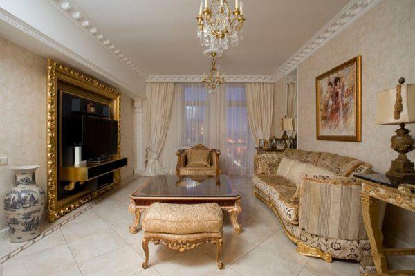Современная квартира в классическом стиле