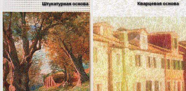 Основа для фрески