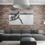 Мебель для гостиной в стиле лофт