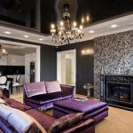 Изысканный интерьер гостиной в стиле арт деко
