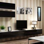 Глянцевая навесная модульная мебель