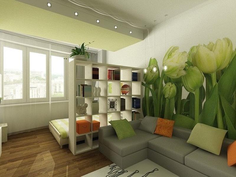 детская и гостиная в одной комнате 50 фото интерьеров