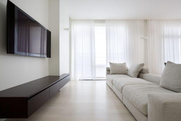 Красивая квартира в стиле минимализм