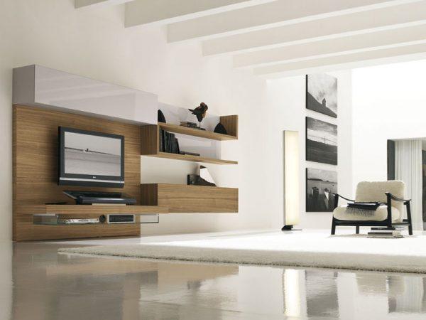 Стиль модерн в оформлении гостиной