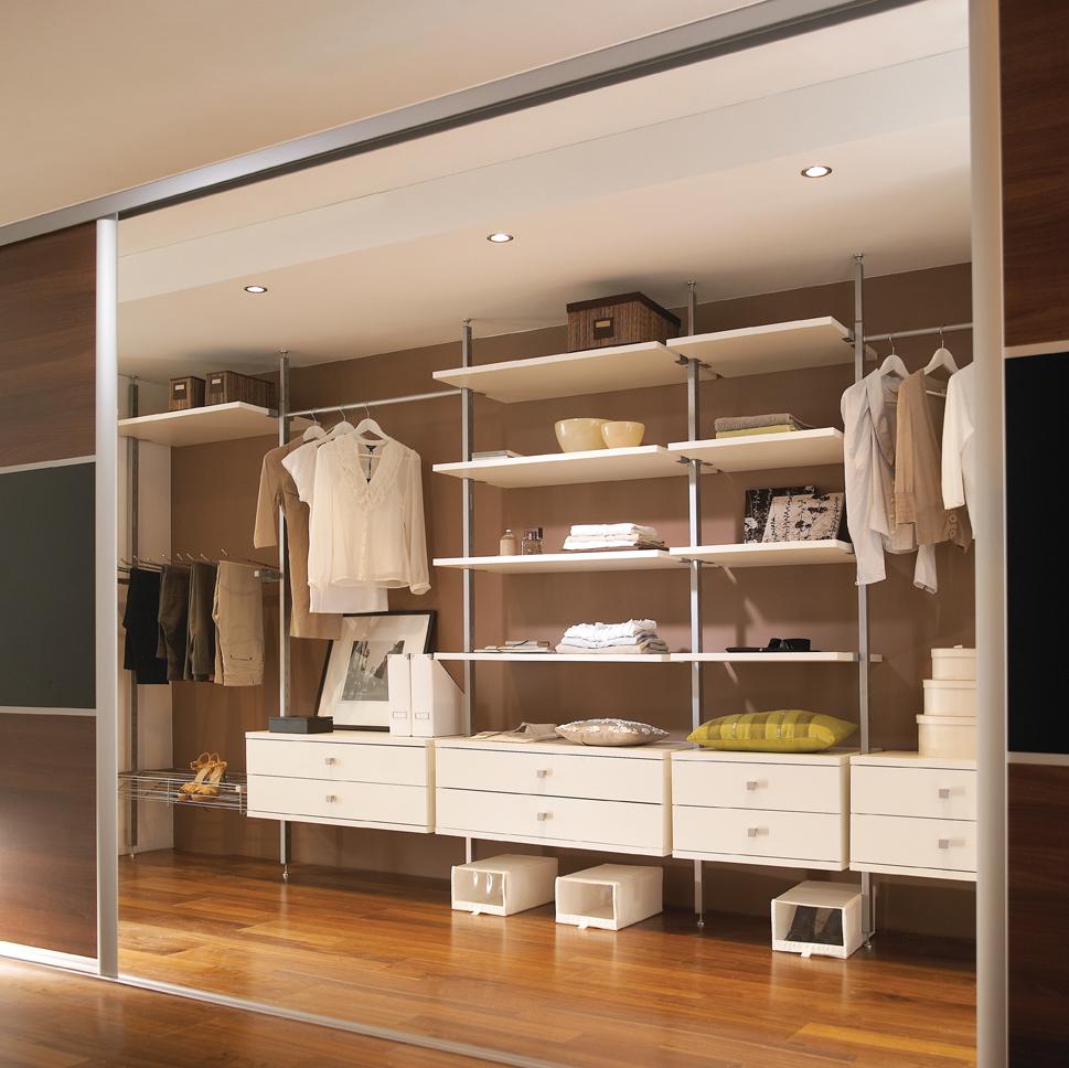 Шкаф-купе с гардеробной