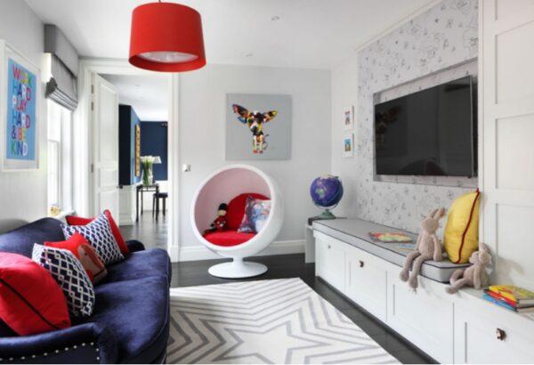 Дизайн детской-гостиной