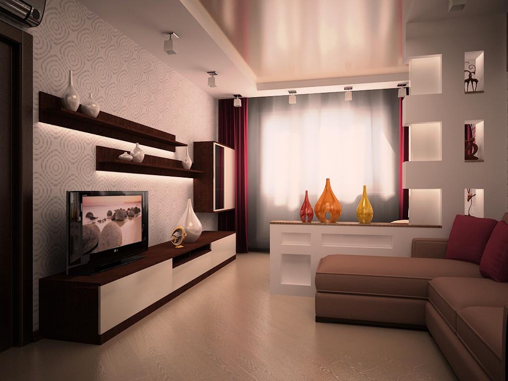 Дизайн комнаты в стандартной квартире фото