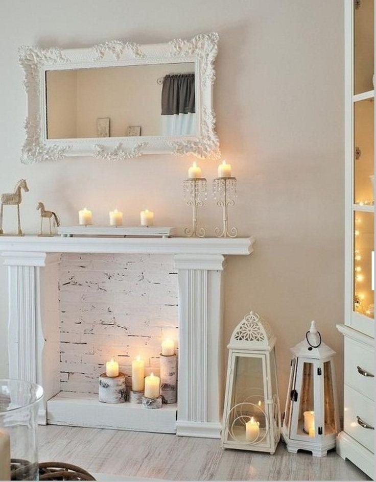 Декоративные камины для квартиры своими руками фото 64