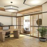 Японский стиль в дизайне интерьера.