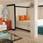 Уютная спальня гостиная