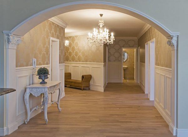 Декоративная арка в интерьере