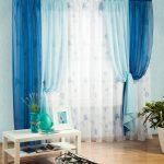 Гармоничное сочетание синего и голубого цвета