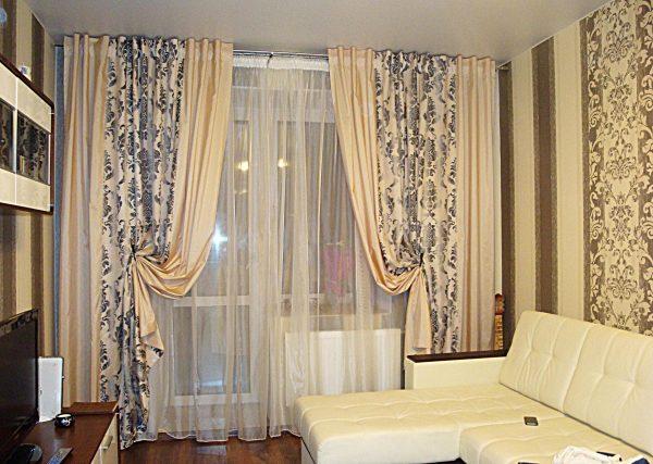 Итальянские шторы из макаронных тканей.