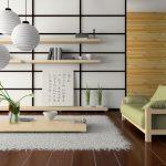 Мебель для гостиной в японском стиле