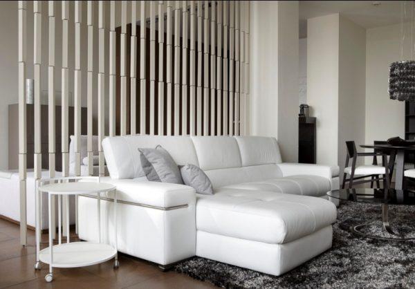 Угловой диван дома - благовидное решение