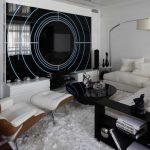 """Стиль """"Хай-тек"""" в мебели и интерьере светлой гостиной"""