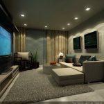 Дизайн гостиной без излишеств
