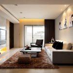 Современная гостиная с раскладным диваном