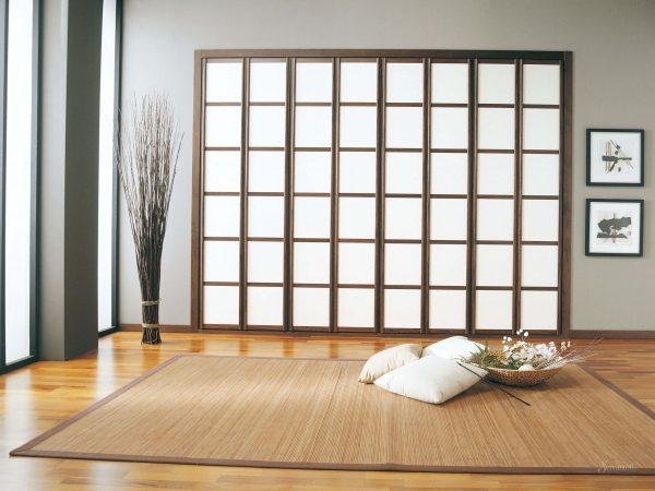 Мебель в японском стиле из массива дерева