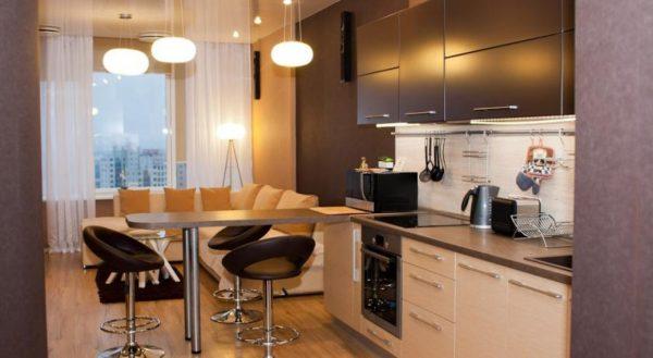 Идеи дизайна малогабаритных кухонь