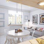 Интерьер квартиры, скандинавский стиль