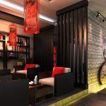 Дизайн гостиной японский стиль