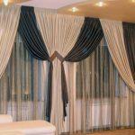 Дизайн штор для гостинной.