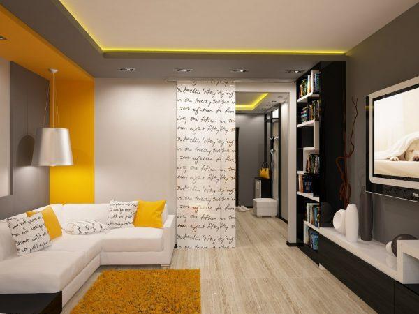 Гостиные в маленьких квартирах
