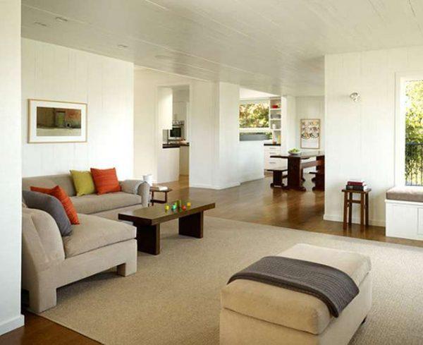 Интерьер гостиной стиль минимализм