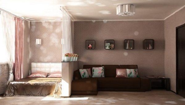 Способы разделить комнату на две зоны