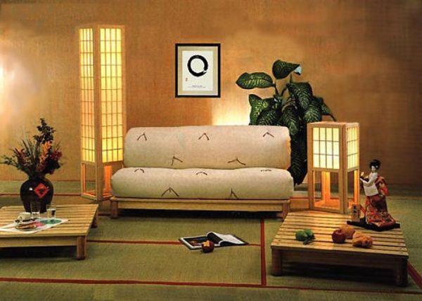 Аксессуары для гостиной в японском стиле