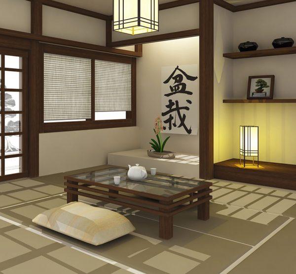 Атрибуты японского стиля
