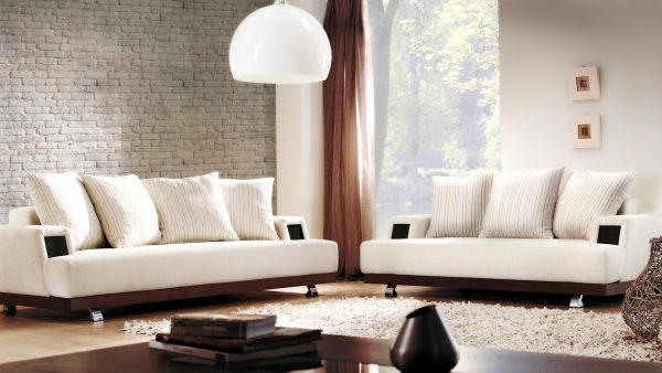 Стиль модерн в дизайне интерьера гостиной