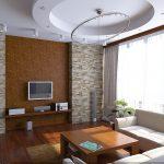 Декор стен имитацией натурального камня