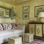 Плетеная мебель в кантри стиле