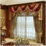 Роскошные шторы для гостиной в классическом стиле
