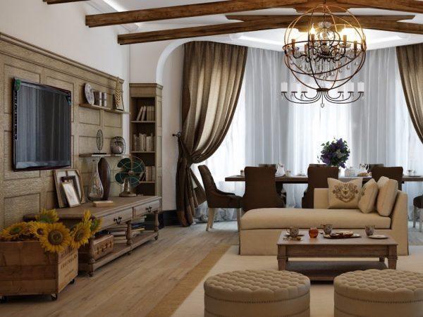 Стиль кантри в интерьере квартиры