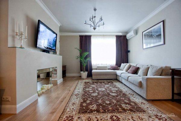 Дизайн уютной гостиной.