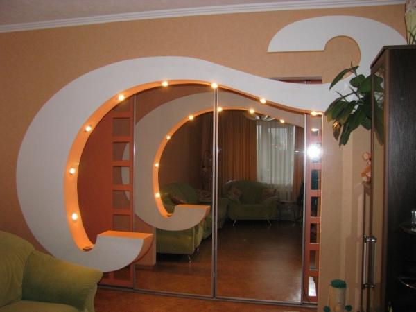Межкомнатные арки из гипсокартона