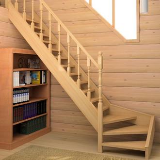 В загородных домах и многоуровневых квартирах лестница из дерева является необходимостью