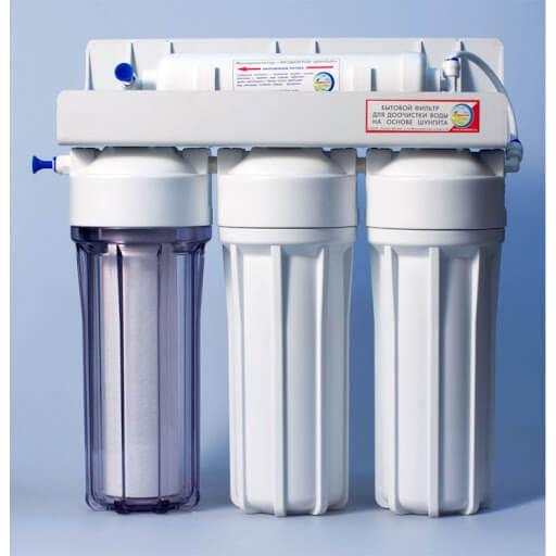 Заказать недорого в Москве Фильтр очистки воды Экодоктор СТАНДАРТ-3 под мойку