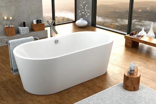 Отдельно стоящие ванны в интерьере. Преимущества отдельностоящей ванны в интерьере | Лайфхаки Ремонта