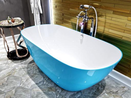 Ванна отдельностоящая: роскошь и шик в дизайне ванной комнаты